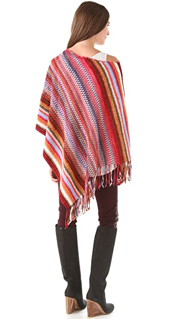 Missoni Striped Poncho