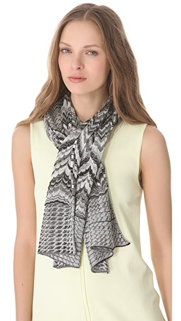 Missoni Mixed Print Lurex Scarf