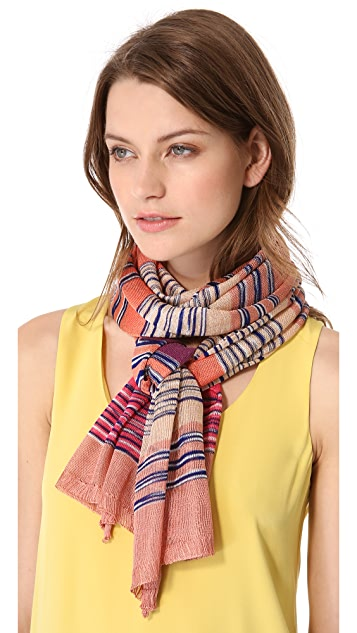 Missoni Mixed Stripe Scarf