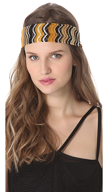 Missoni Wave Print Headband