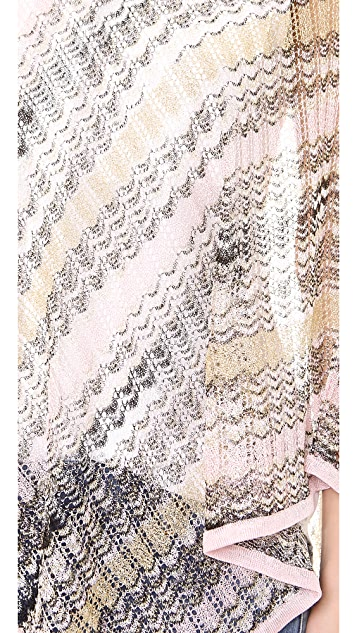 Missoni Woven Poncho
