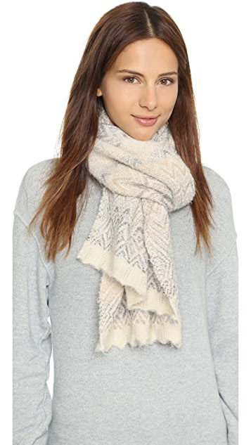 Missoni Brushed Knit Scarf