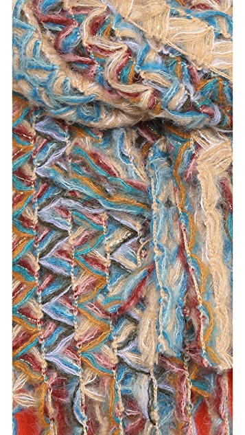 Missoni Knit Stole Scarf