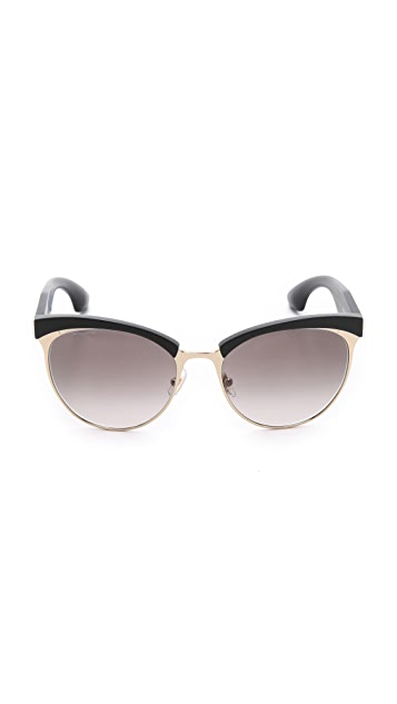 Miu Miu Top Rim Sunglasses
