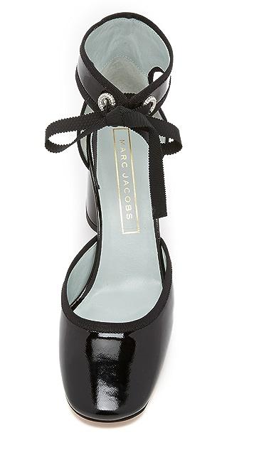 af48f3abc932 ... Marc Jacobs Elle Ankle Strap Pumps ...