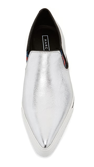 Marc Jacobs Кроссовки без шнурков Delancey