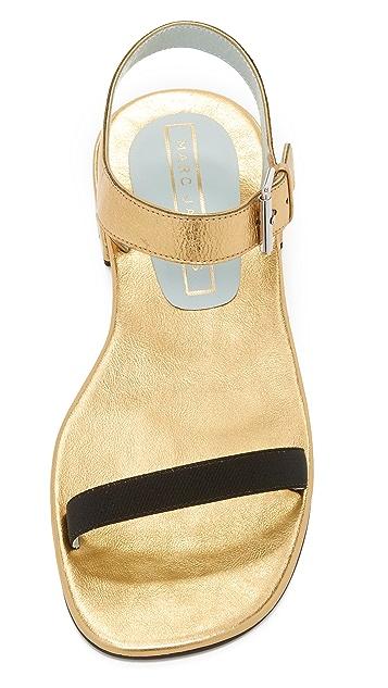 Marc Jacobs Elizabeth Flat Sandals