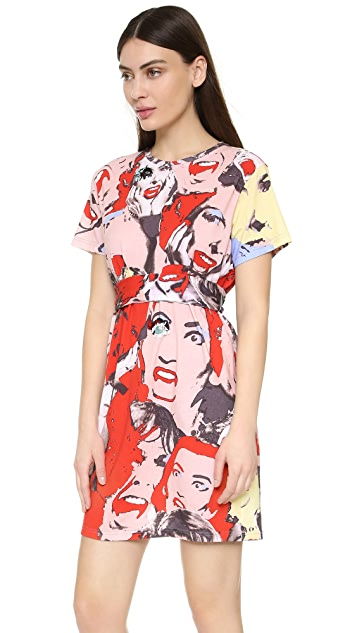 Marc Jacobs Платье Screaming Ladies