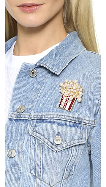 The Marc Jacobs Popcorn Brooch