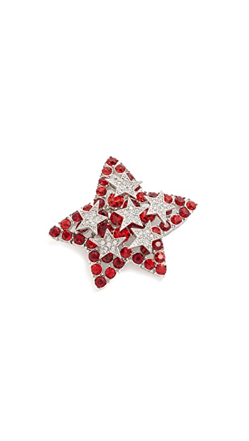 Marc Jacobs Oversized Star Brooch