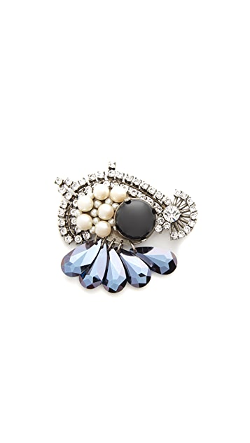 Marc Jacobs Arty Brooch