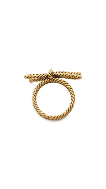 Marc Jacobs Rope Bow Ring