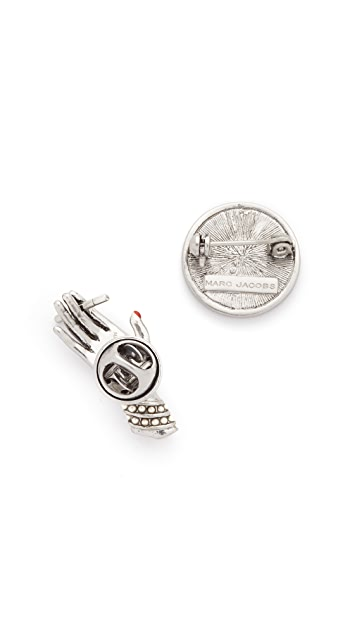 The Marc Jacobs Hand Brooch Set