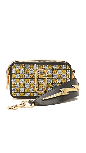 Marc Jacobs Snapshot Sequin Camera Bag