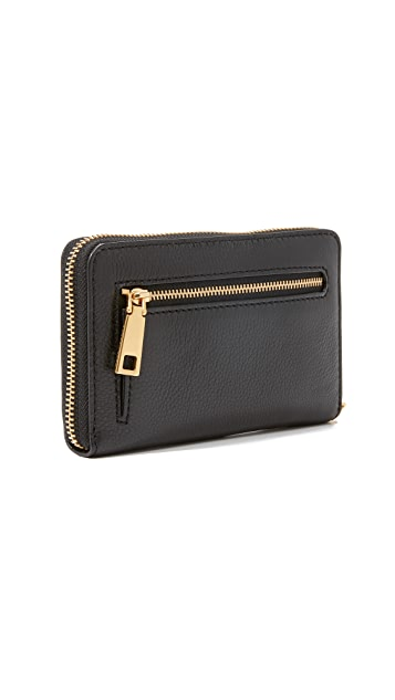 Marc Jacobs Recruit Zip Wristlet