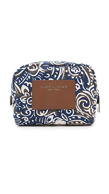 Marc Jacobs Paisley Small Cosmetic Pouch