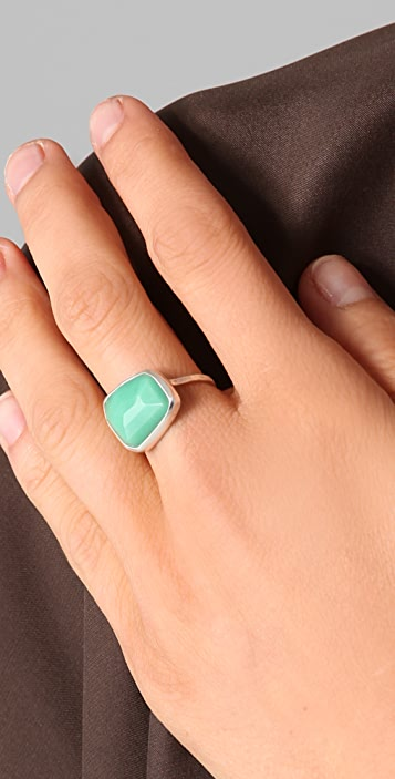 Melissa Joy Manning Green Chrysoprase Ring