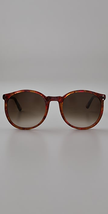 Marc Jacobs Sunglasses Oversized Round Sunglasses