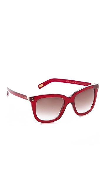 Marc Jacobs Sunglasses Oversized Square Sunglasses