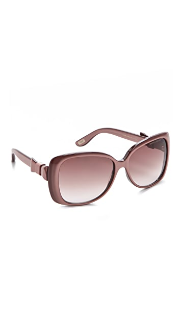 Marc Jacobs Sunglasses Bow Detail Sunglasses