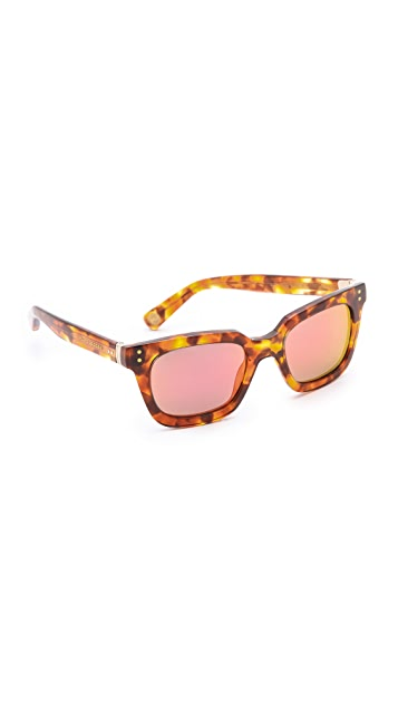 Marc Jacobs Sunglasses Mirrored Square Sunglasses