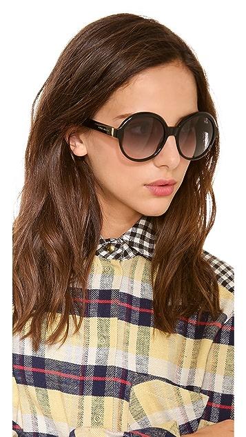 Marc Jacobs Sunglasses Oversized Glam Sunglasses