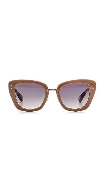 Marc Jacobs Sunglasses Thick Frame Sunglasses