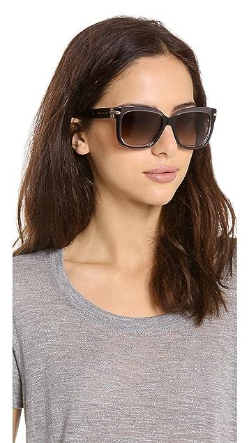 Marc Jacobs Sunglasses Two Tone Sunglasses