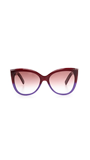 Marc Jacobs Sunglasses Gradient Sunglasses