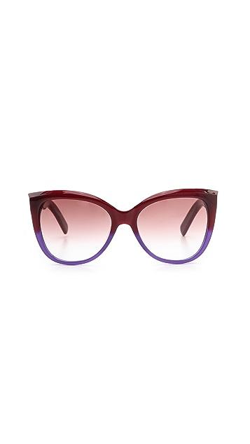 Marc Jacobs Sunglasses Gradient Sunglasses