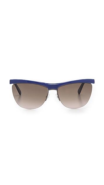 Marc Jacobs Sunglasses Rimless Bottom Sunglasses