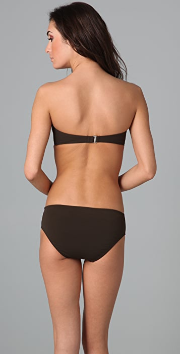 Michael Kors Collection Laced Up Underwire Bikini