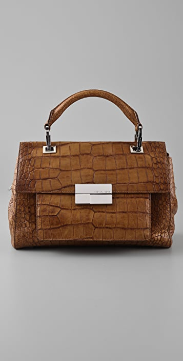 Michael Kors Collection Quinn Top Handle Satchel