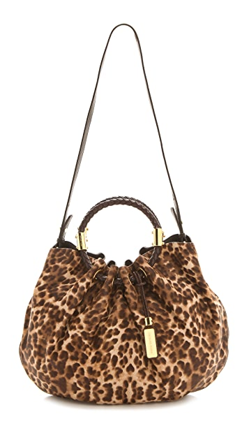 Michael Kors Collection Skorpios Haircalf Ring Tote