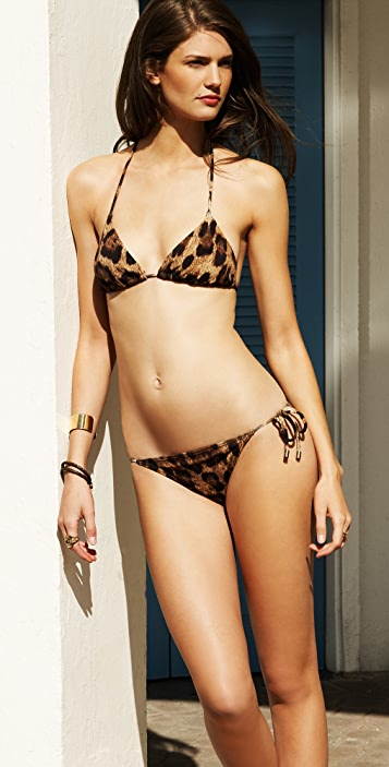 Michael Kors Collection Singita Leopard Bikini