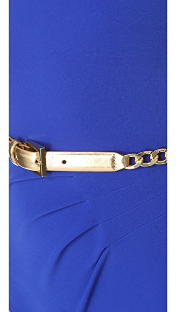 Michael Kors Collection Gilded Chain Retro Maillot