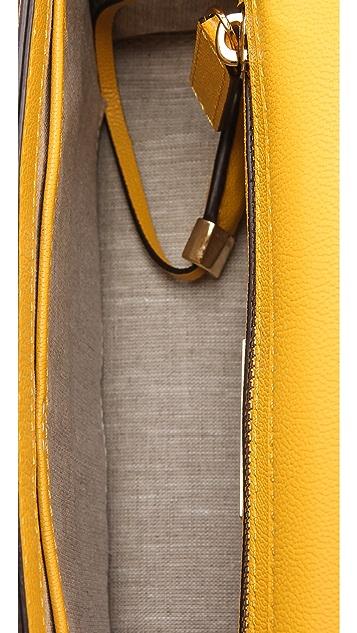 Michael Kors Collection Gia Flap Shoulder Bag