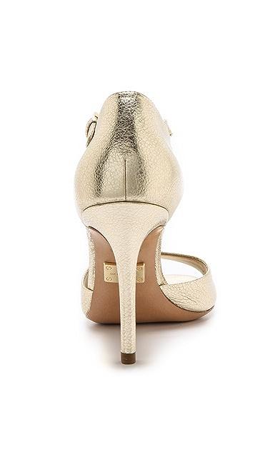Michael Kors Collection Malia Metallic Sandals