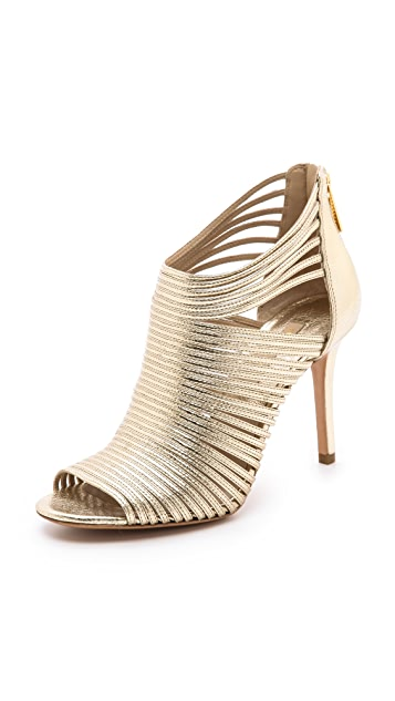 Michael Kors Collection Maxi Metallic Sandals