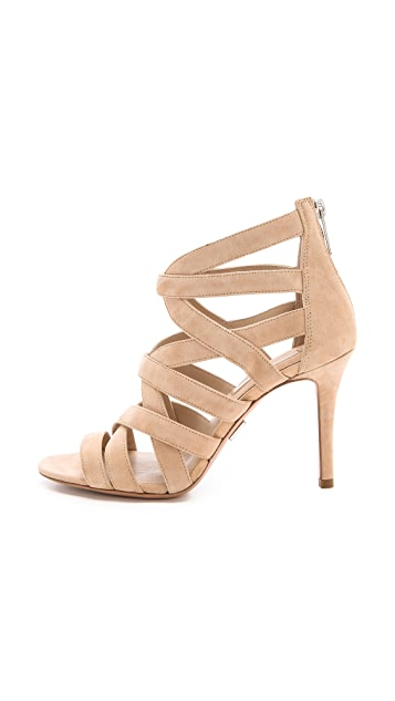 Michael Kors Collection Merida Cutout Sandals