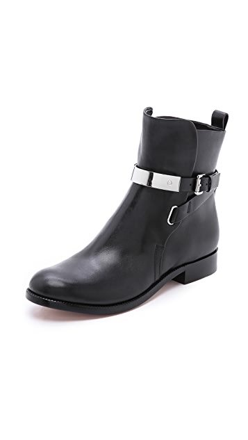 Michael Kors Collection Amaya Plate Booties