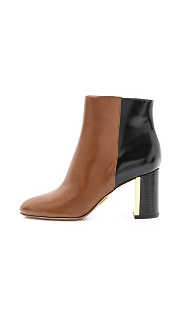 Michael Kors Collection Vivi Two Tone Booties