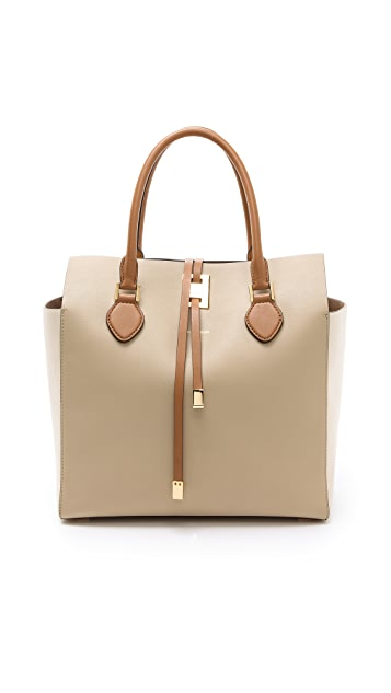 Michael Kors Collection Miranda Large Colorblock Tote