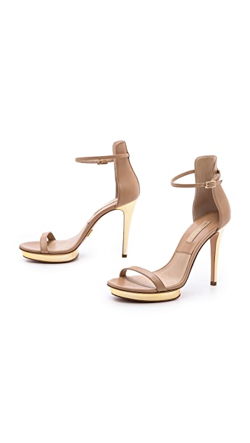 Michael Kors Collection Doris Heeled Sandals