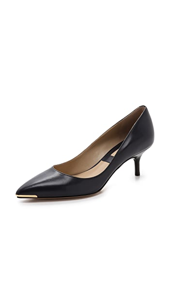 Michael Kors Collection Trisha Kitten Heel Pumps