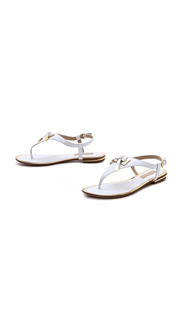 Michael Kors Collection Hara Flat Thong Sandals