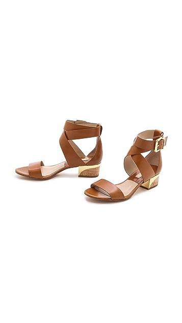 Michael Kors Collection Tulia Block Heel Sandals