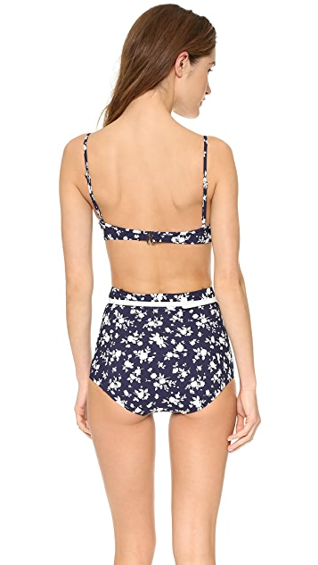 Michael Kors Collection Pansy Print Bikini