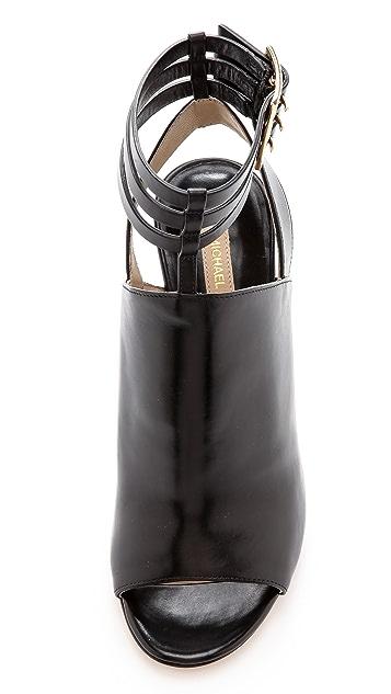 Michael Kors Collection Phaedra Open Toe Booties