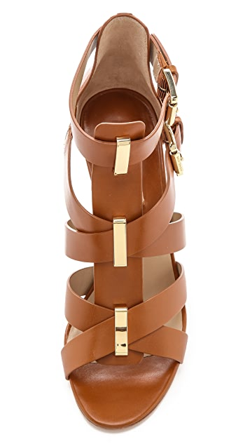 Michael Kors Collection Reagan Wedge Sandals